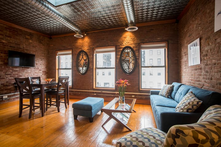 Modern & Bright  2BR Entire Apt w/ Private Terrace