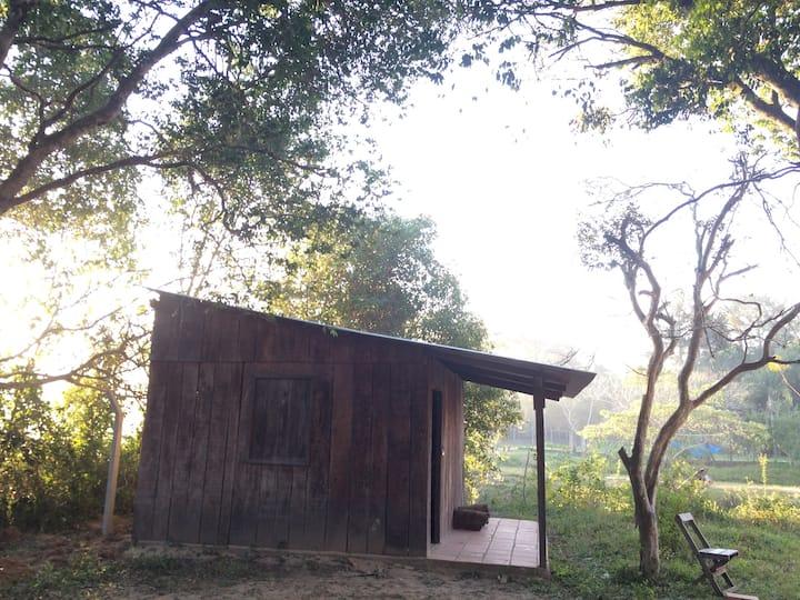 Cabaña sobre el Yhaguy/ Cabin on Yhaguy´s stream
