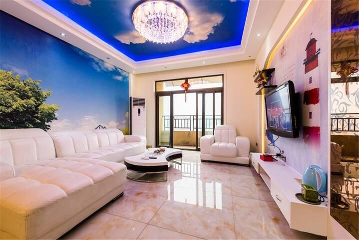 阆中安驿民居万驰英伦地中海风格楼中楼 小区环境优美,安静 - Nanchong - Lägenhet