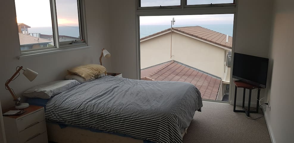 First floor bedroom with great views