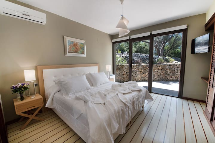 Second bedroom with own private terrace
