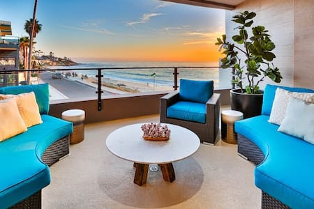 Luxurious New Oceanfront Condo, Steps From Beach! - San Diego - Condominium