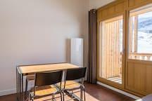 Superbe studio cabine à Tignes 202.
