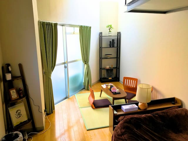 Japanese Modern Room★2min to Subway★Free Massage! - 大阪市 - Wohnung