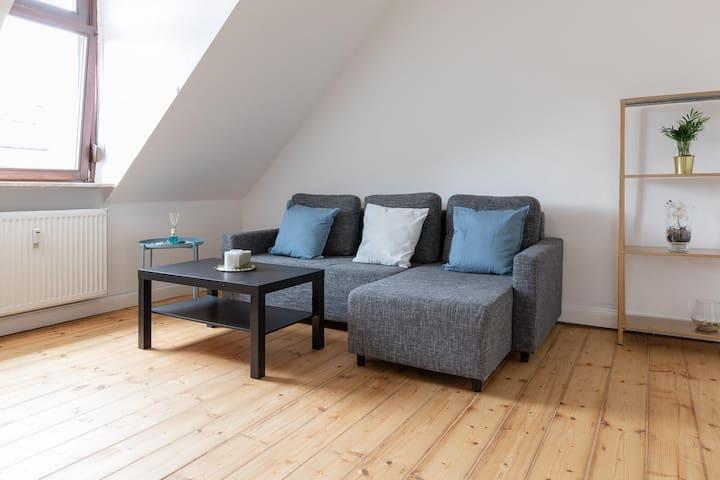 ※ Gesamte Unterkunft ※ 2 Zimmer ※ 3 Gäste ※ Garten