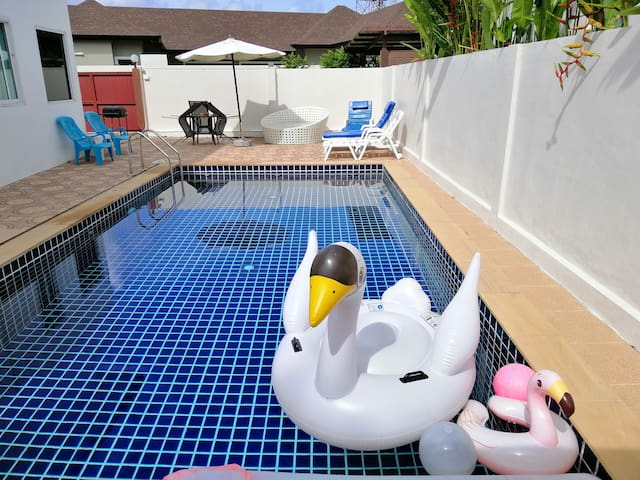 2 beds private pool