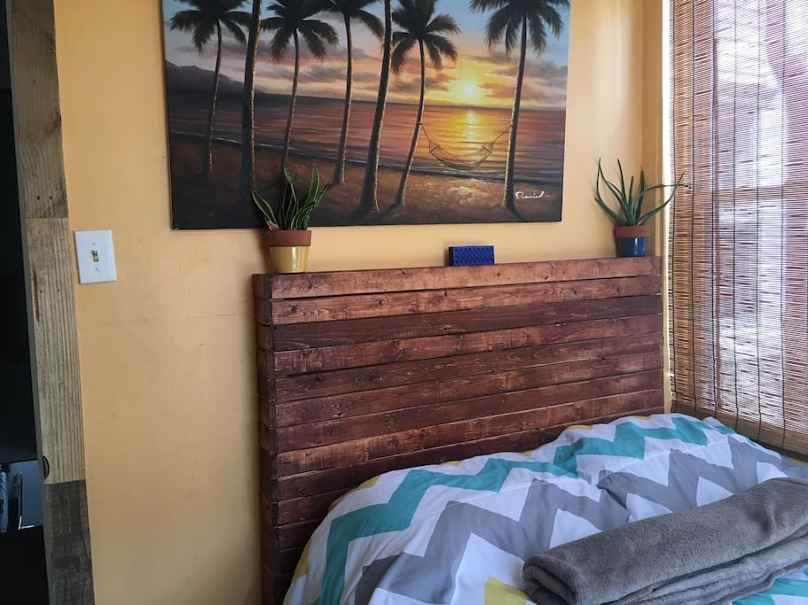 Custom Wood Work and Relaxed Ambiance.