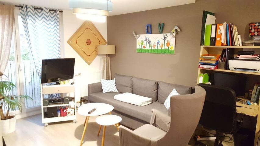 Chambre privée : T2 proche du centre ville de Lyon