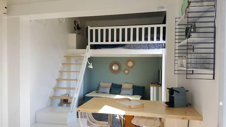 Home Eleven : charmant studio au cœur de Trouville