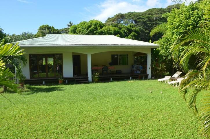 maison vacances moorea - Farehau - Casa