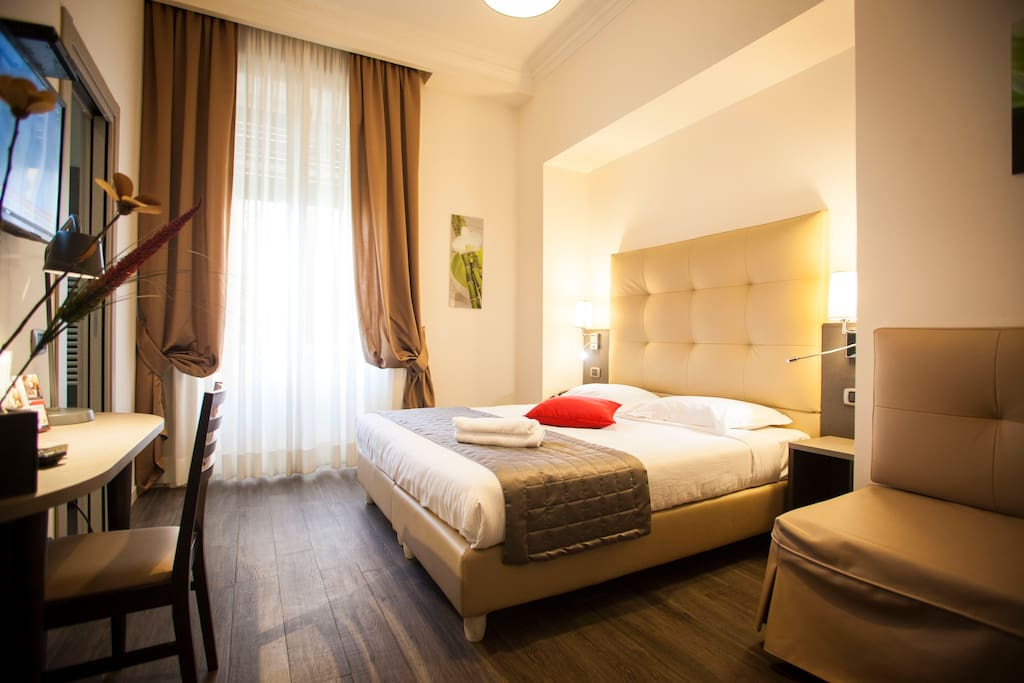 boutique double and triple room