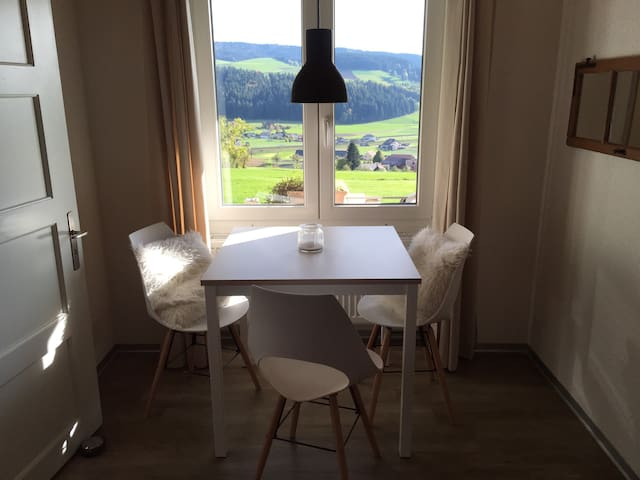 Appartement in den Emmentalerhügeln
