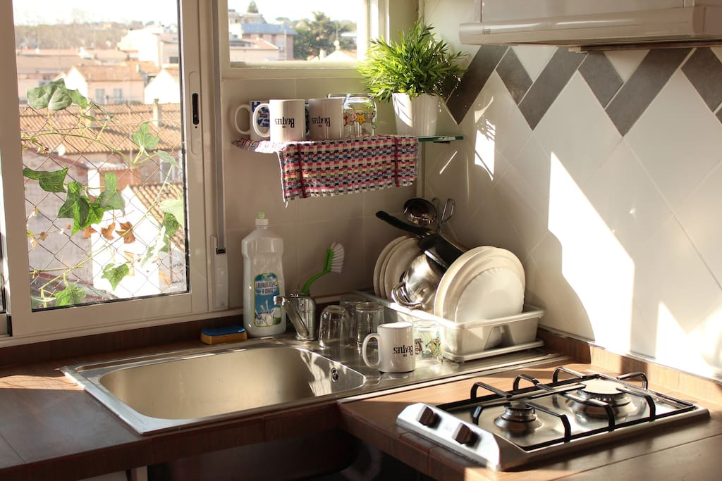 Cocina con vistas | kitchen with views