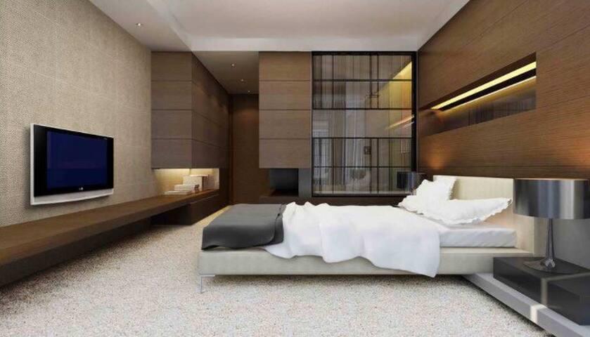 【酒店式公寓】江景房/南滨路/长江国际/65平/非居民楼/全配套独立公寓