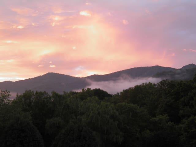 Gorgeous Mountain View in the Smoky Mountains