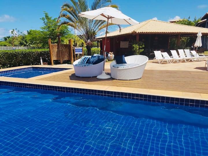 Quinta das Lagoas Residence, H 1º andar Itacimirim