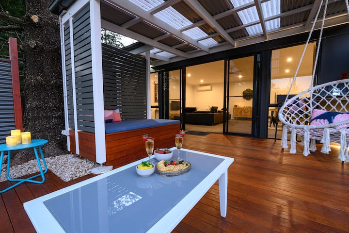 Relaxing and tranquil apartment, rainforest escape