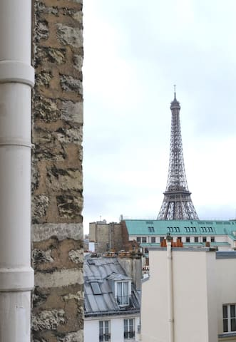 Beautiful and cozy flat very close to Eiffel Tower - Parijs