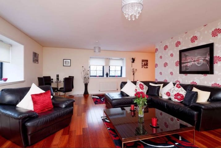 Stunning Cinema Apartment - Glasgow - Byt