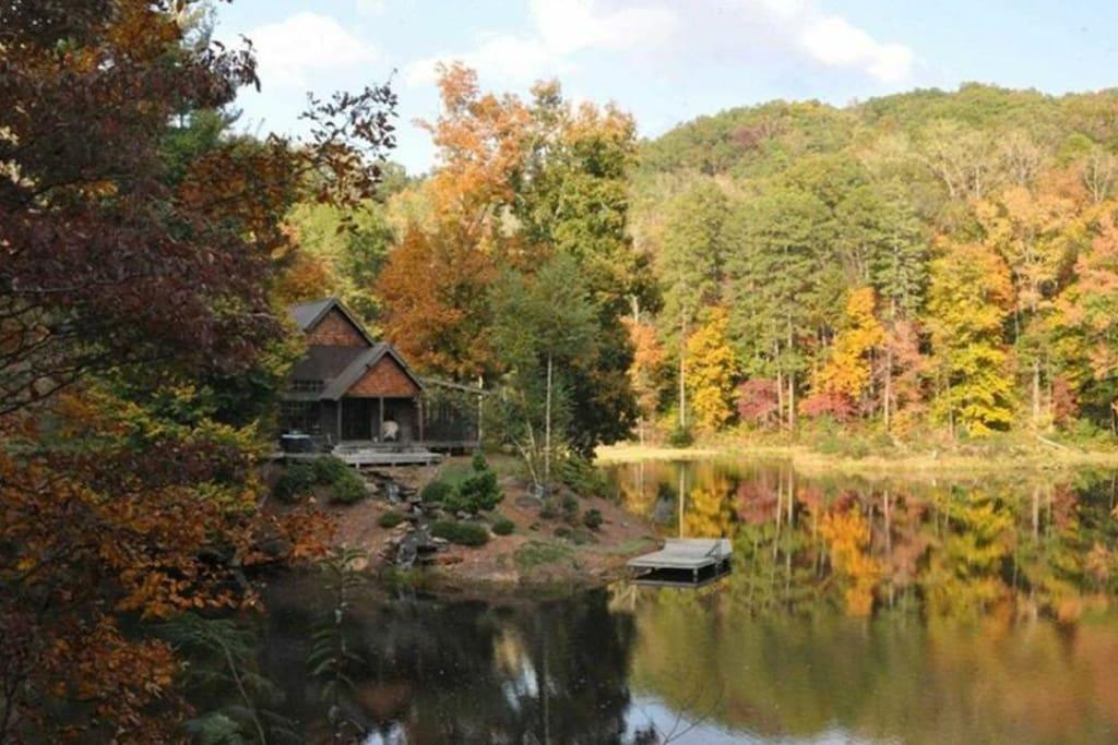 Private island cabin atlanta spiritual unique cabins for for Sumter national forest cabins