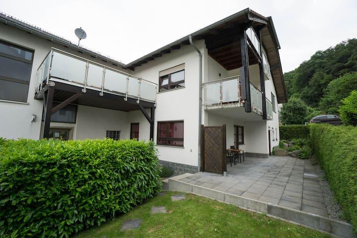 Große komfortable Wohnung 110 m² mit Sauna - Birkenau - Appartement