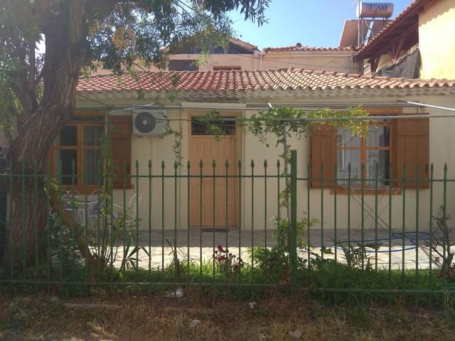 Simple stone house