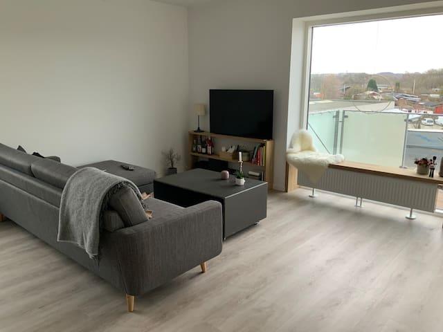 Lys ny lejlighed tæt på Aarhus C