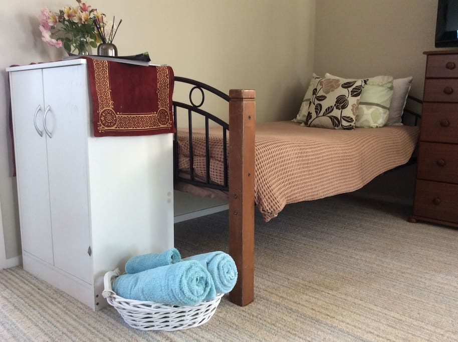 Also single bed available