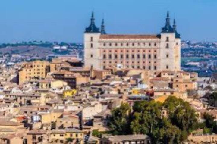 Tranquilidad en el centro de Toledo