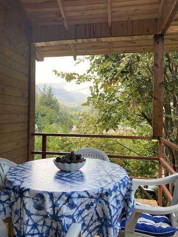 Village cottage for quiet escape