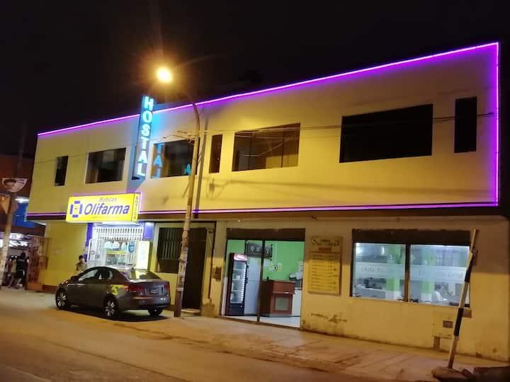 Thiago Hostel a 12 minutos del aeropuerto