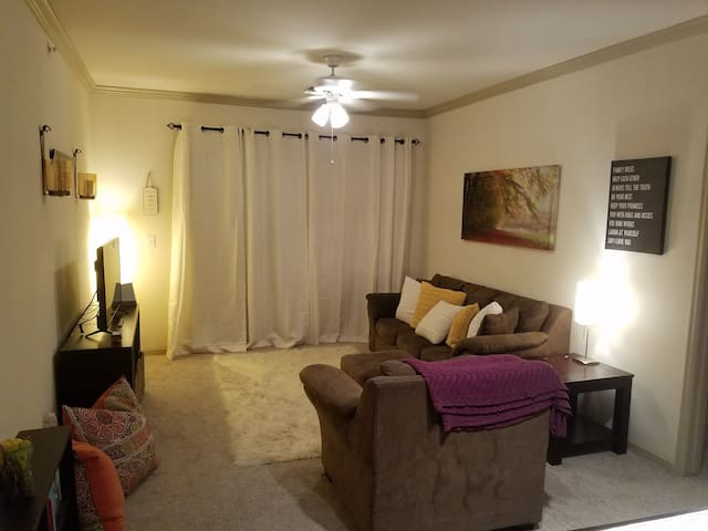 Cozy Apt in Fairview, near McKinney and Allen - Fairview - Departamento