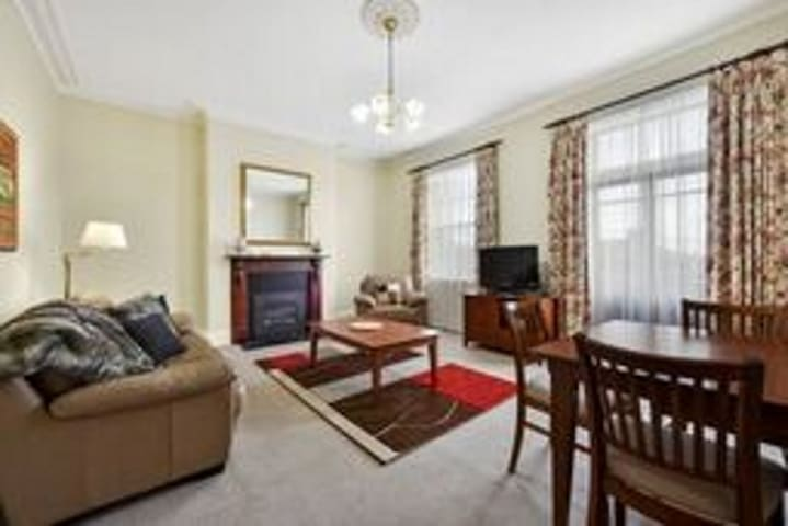 Apartment, Great Location in Historic Building