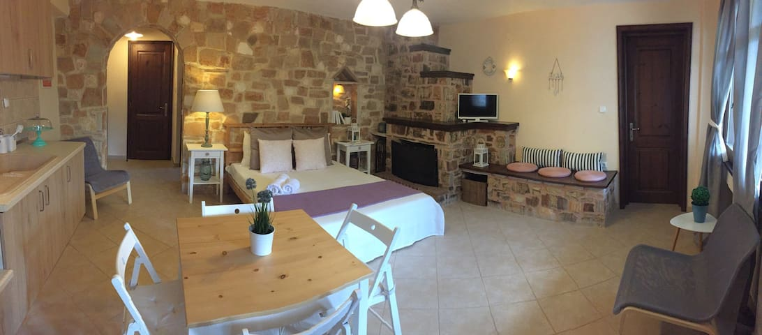Luxury Apartment in a stone house. - Thasos - Apartmen