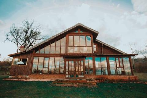abant gövem-kütük villa-bolu dağ evi-villa karaca