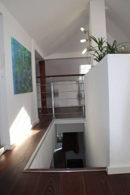 modern loft in the heart of stuttgart lofts zur miete in stuttgart baden w rttemberg deutschland. Black Bedroom Furniture Sets. Home Design Ideas