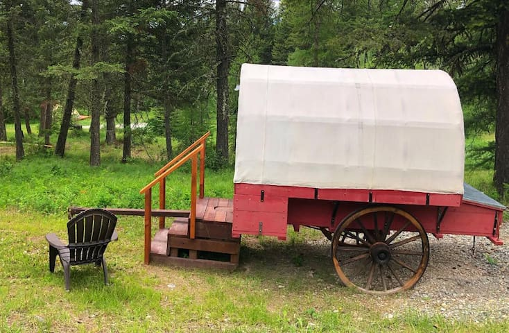 Rustic Sheepherder Wagon