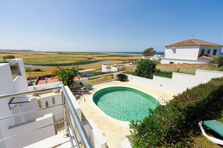 Moderne Ferienwohnung mit Meerblick - Apartamento Prado