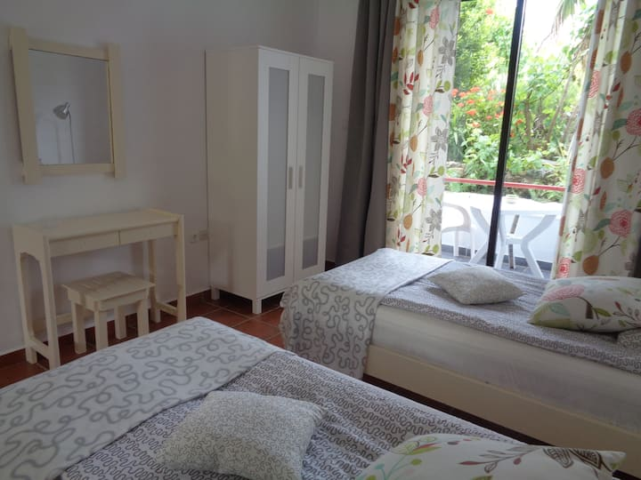 Studio Villa Panagos in Faliraki, close to it all