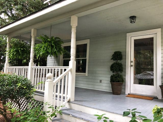 Southern Front Porch with Swing