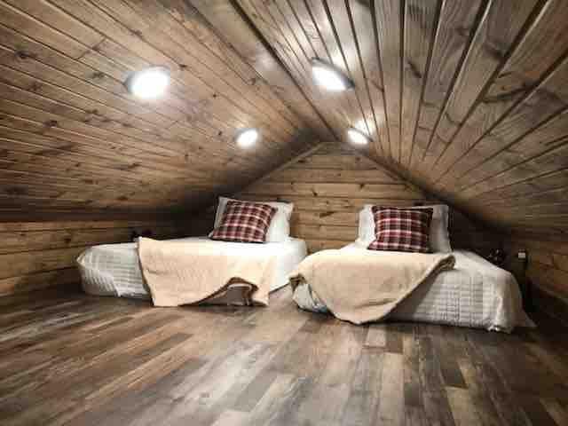 Loft sleeping area!