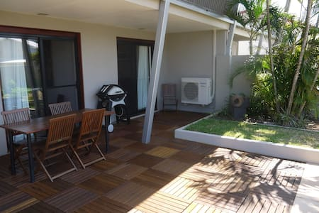 Private Double with Garden View - Lennox Head - Villa