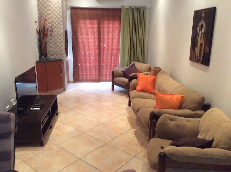 Lounge - includes TV and air conditioner