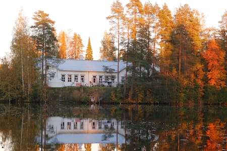 Rooms in an old school building on a lakeside - Juupajoki - Lejlighed