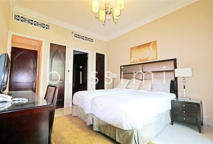 Private room with Burj Khalifa View - Dubai - Huoneisto