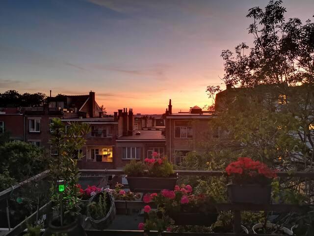 Beau duplex avec terrasse au coeur de Saint-Gilles