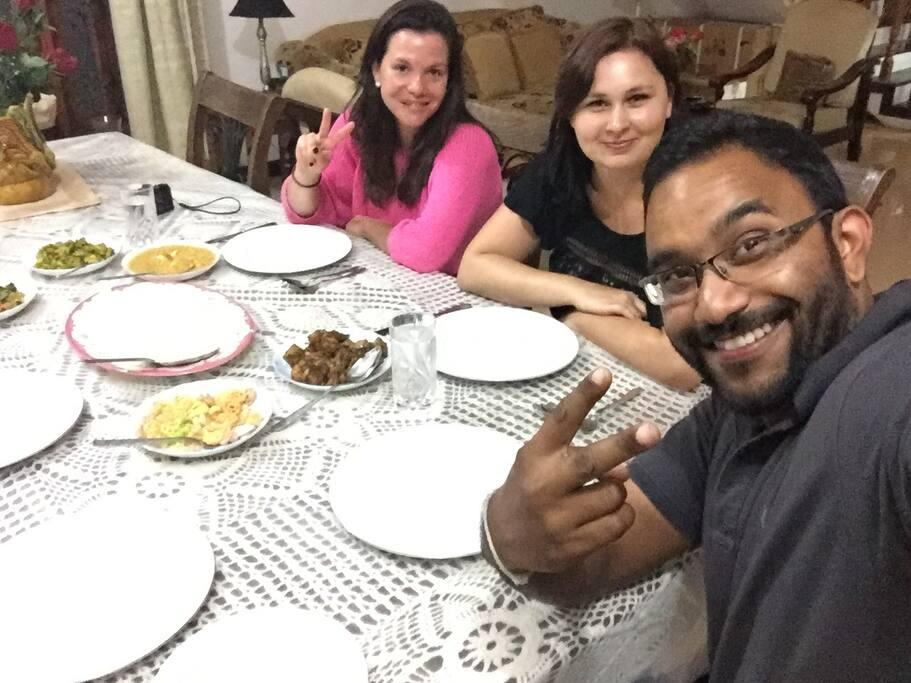 Sri Lankan Dinner