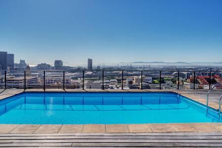 Cape Town,City Centre, Penthouse Floor Apartment - เคปทาวน์ - เซอร์วิสอพาร์ทเมนท์