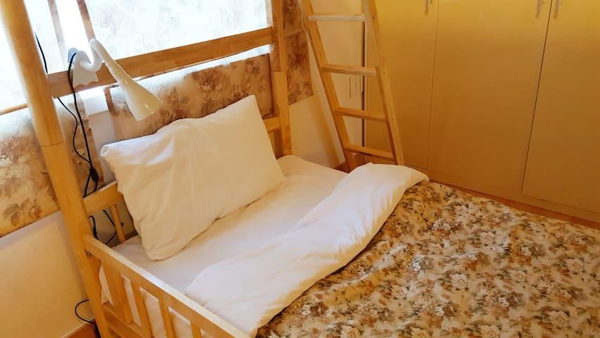 숲속게스트하우스 30평형 남자전용 4인실 - Bongpyeong-myeon, Pyeongchang-gun - Casa de camp