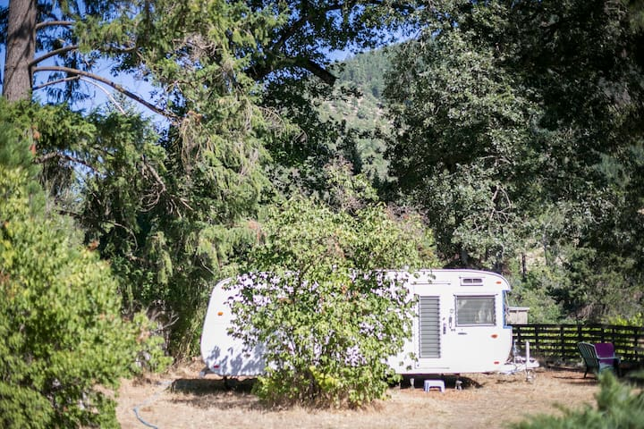 Vintage Trailer in Applegate Valley - Jacksonville